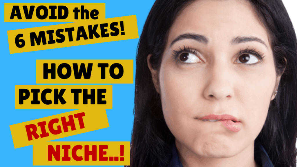 Affiliate Marketing - How to Pick the Right Niche